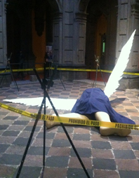 Caen ángeles en tierras mexicanas