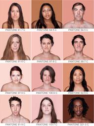 Una guía Pantone de la piel