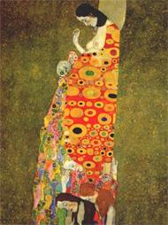 Gustav Klimt en el Belvedere
