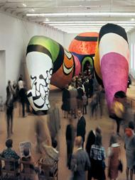 Niki de Saint Phalle en el Moderna Museet