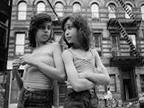 Susan Meiselas. Prince Street Girls