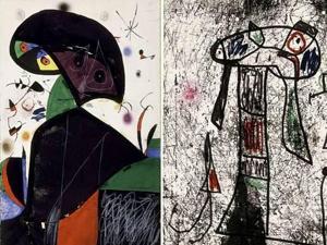 Aparece el boceto de Miró perdido en Palma