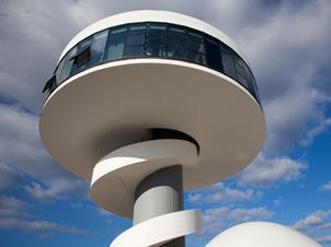 El Centro Niemeyer paralizado