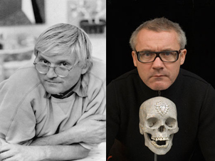 David Hockney vs Damien Hirst