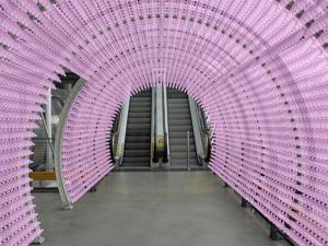 El Pompidou se cubre de preservativos