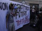 Protestas contra los recortes en Italia