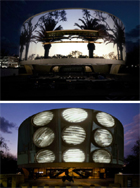 Doug Aitken ilumina el  Hirshhorn Museum