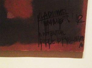 Rothko atacado en la TATE Modern