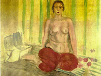 Odalisque in Red Pants de Matisse recuperado