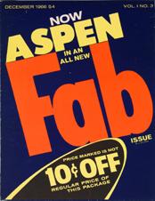 La revista de culto Aspen en Whitechapel