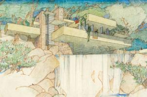 El MoMA y Columbia compran los archivos de Lloyd Wright