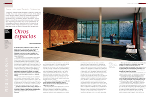 Entrevista con Beatriz Colomina
