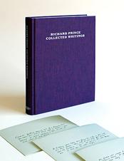 Publicados los escritos de Richard Prince
